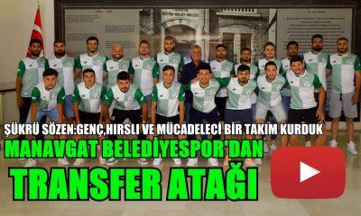 MANAVGAT BELEDİYESPOR'DAN TRANSFER ŞOV!
