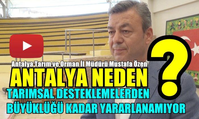 Antalya Neden yeteri kadar Faydalanamıyor?
