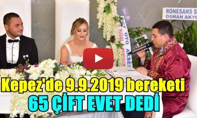 Kepez'de '9.9.2019' bereketi