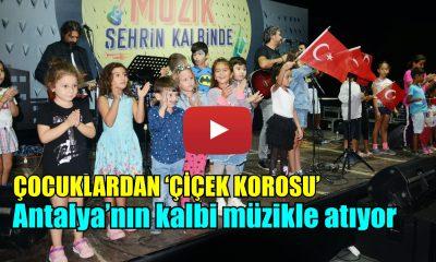 Antalya'nın kalbi müzikle atıyor