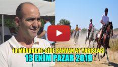 Manavgat-Side Rahvan At Yarışları