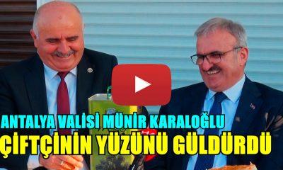 VALİ KARALOĞLU'NDAN DESTEK SÖZÜ!