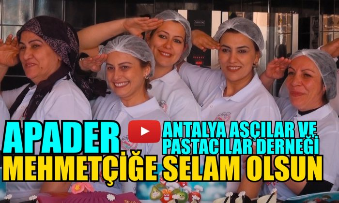 APADER'DEN MEHMETÇİĞE SELAM!