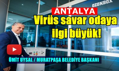 Virüs savar odaya ilgi büyük