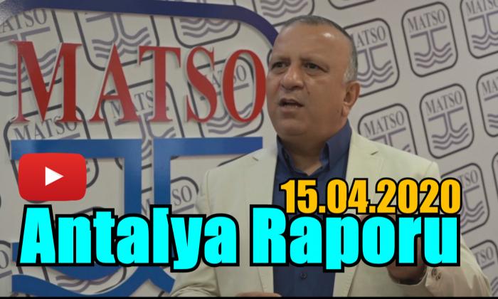 Antalya Raporu 15.04.2020