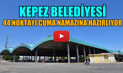 Kepez'de Cuma Namazı Hazırlığı