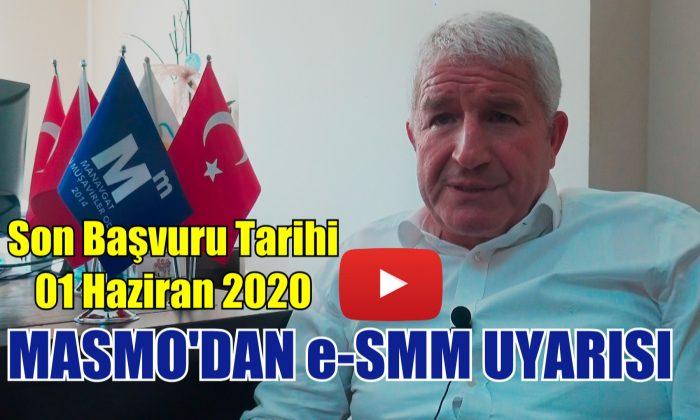 MASMO'DAN e-SMM UYARISI