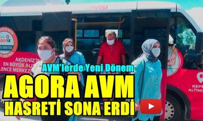 ANTALYALININ AGORA HASRETİ BİTTİ!