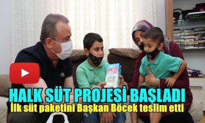Halk Süt Projesi Başladı !