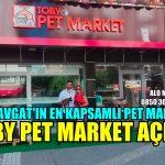 TOBY PET MARKET AÇILDI