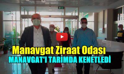 MZO, MANAVGAT'I TARIMDA KENETLEDİ