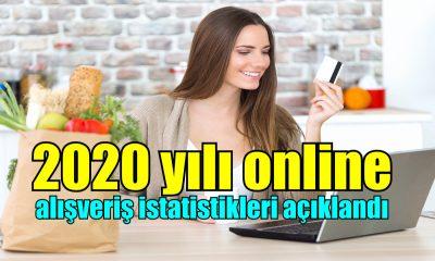 2020 yılı online alışveriş istatistikleri açıklandı