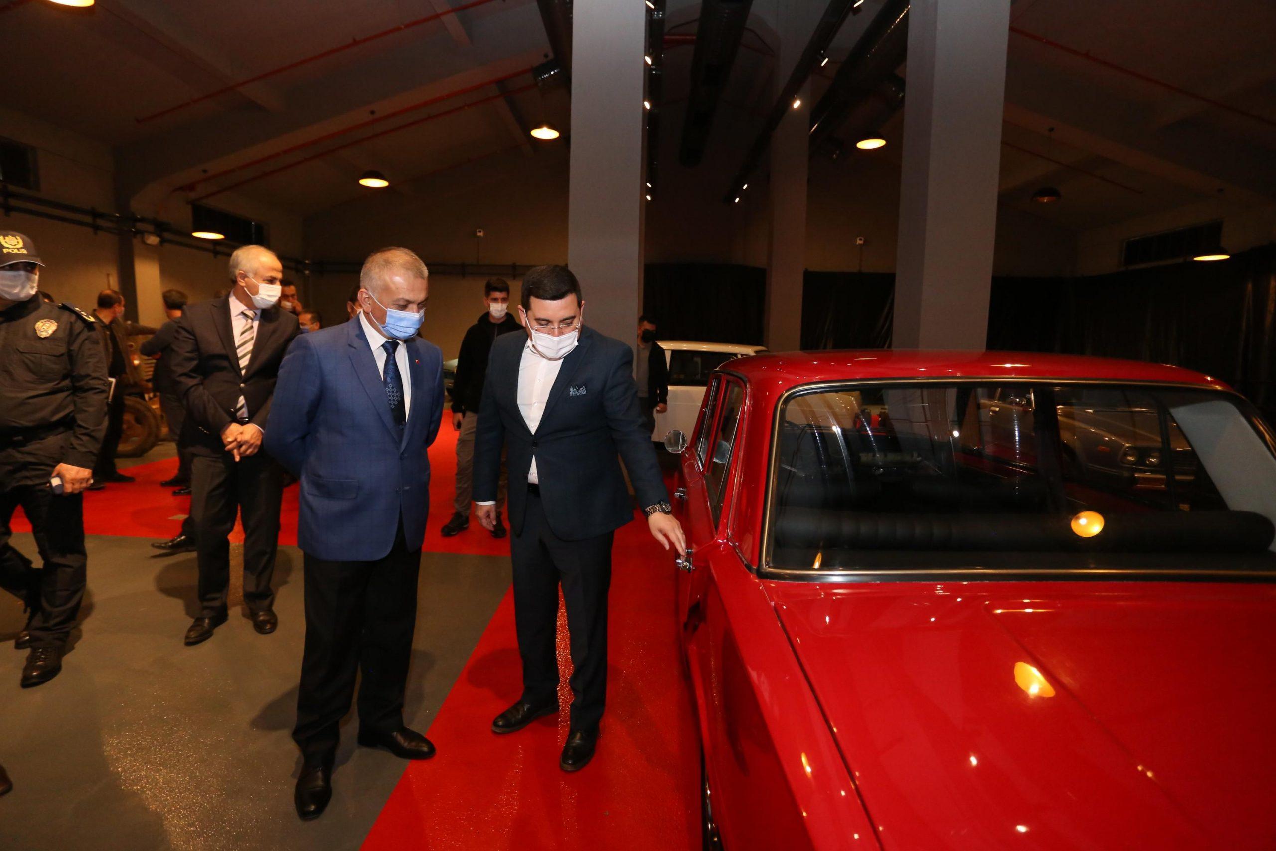 DokumaPark, Antalya Valisi Ersin Yazıcı'yı ağırladı.