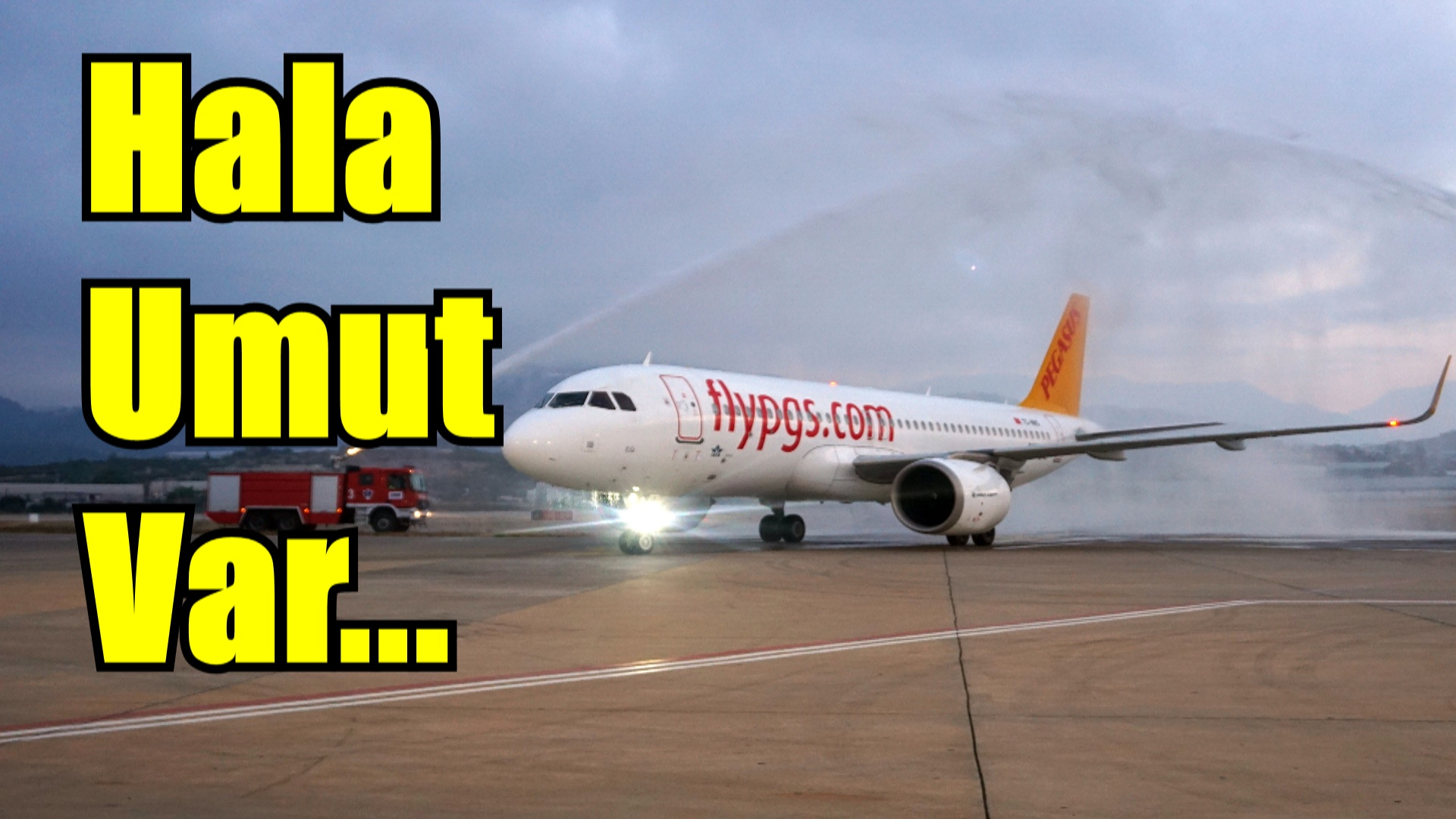 İlk uçuş Kiev'den !