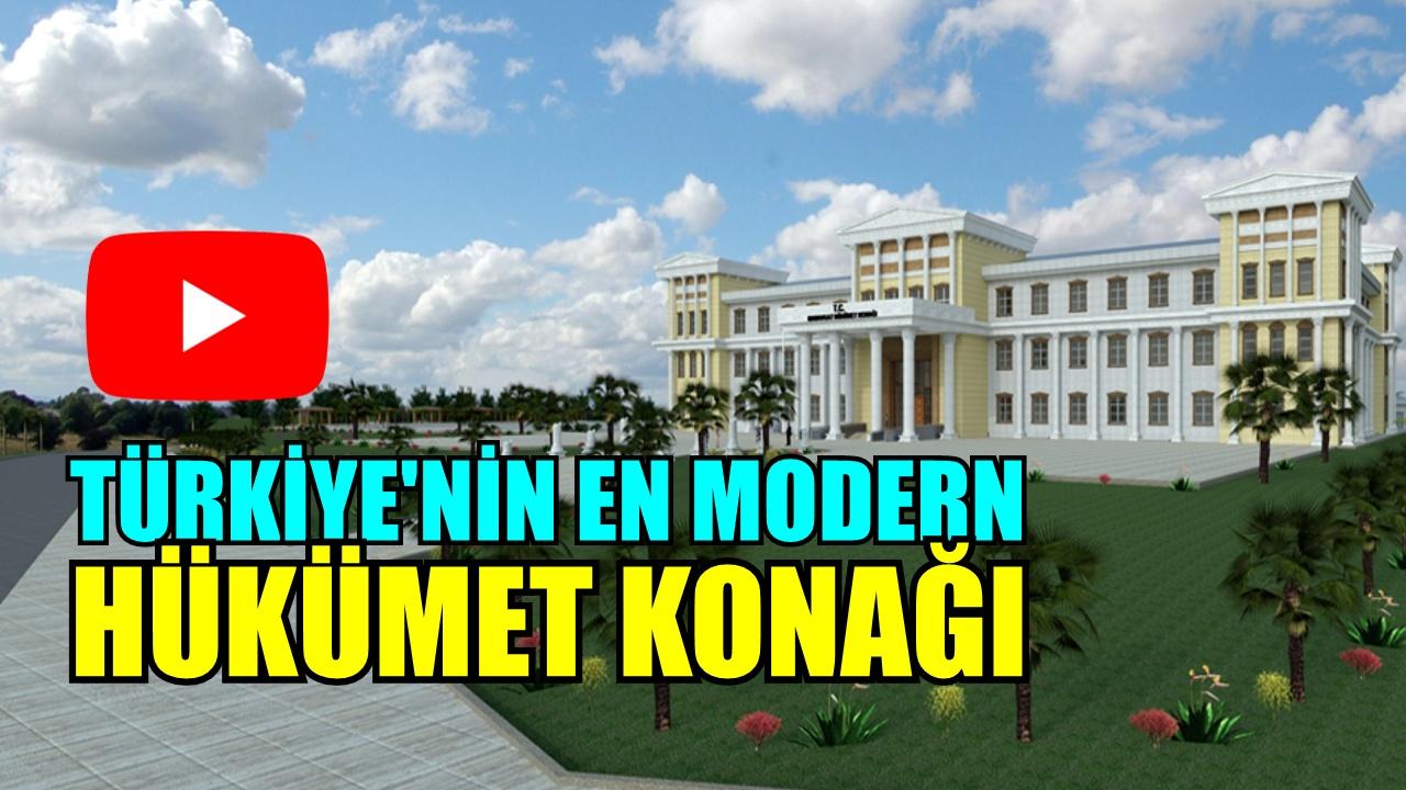 TÜRKİYE'NİN EN MODERNİ OLACAK!