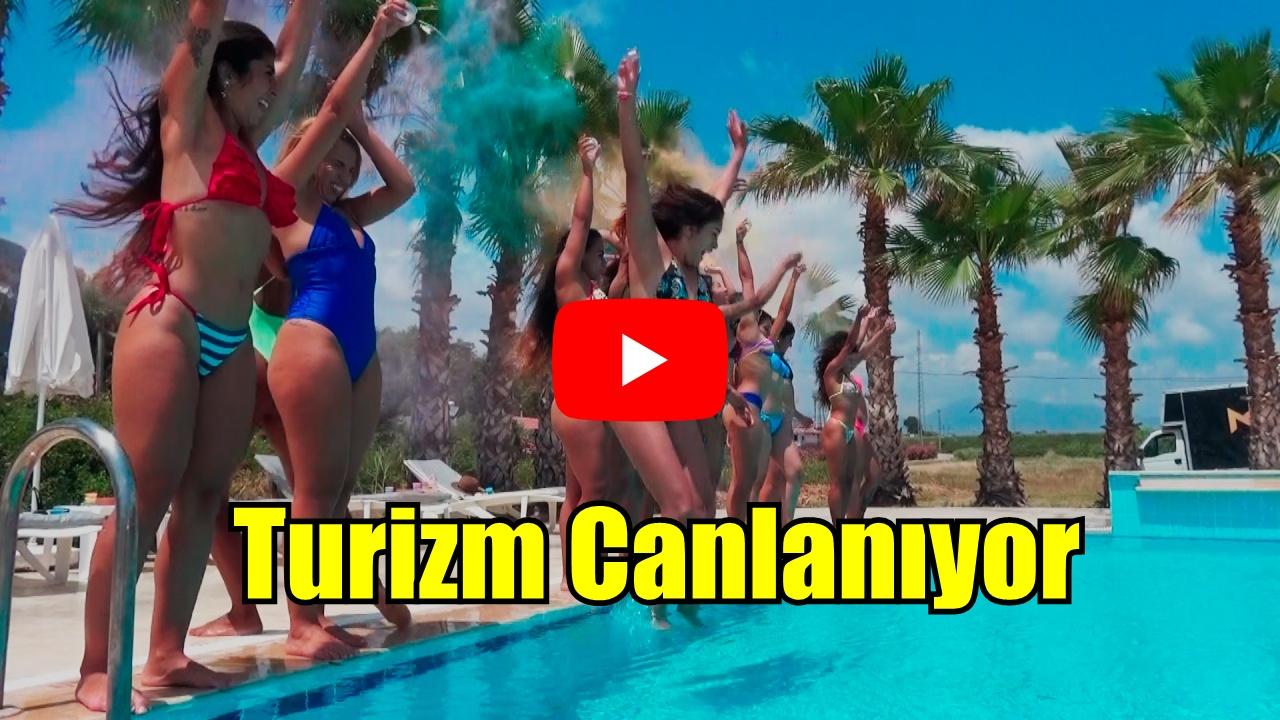 ANTALYA'DA TURİZM CANLANIYOR