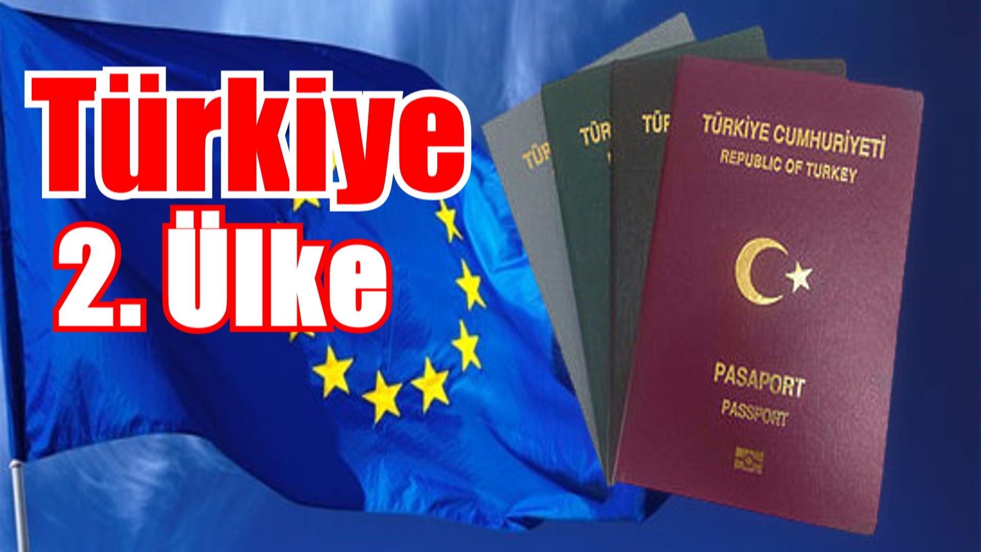 Schengen vizesi başvurusunda ikinciyiz