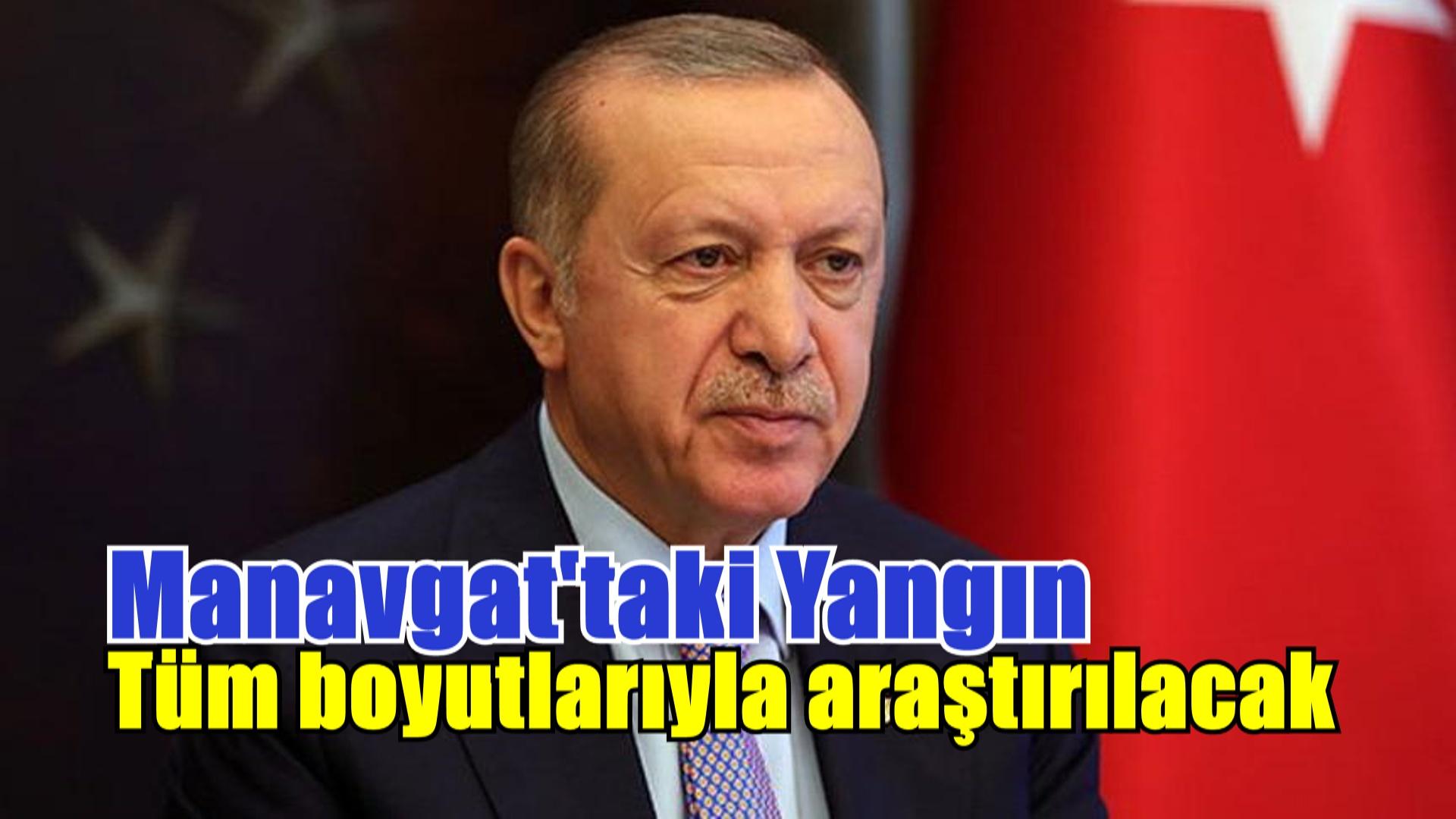 Erdoğan: 'Zarar gören vatandaşlarımıza her türlü destek sağlanacak'