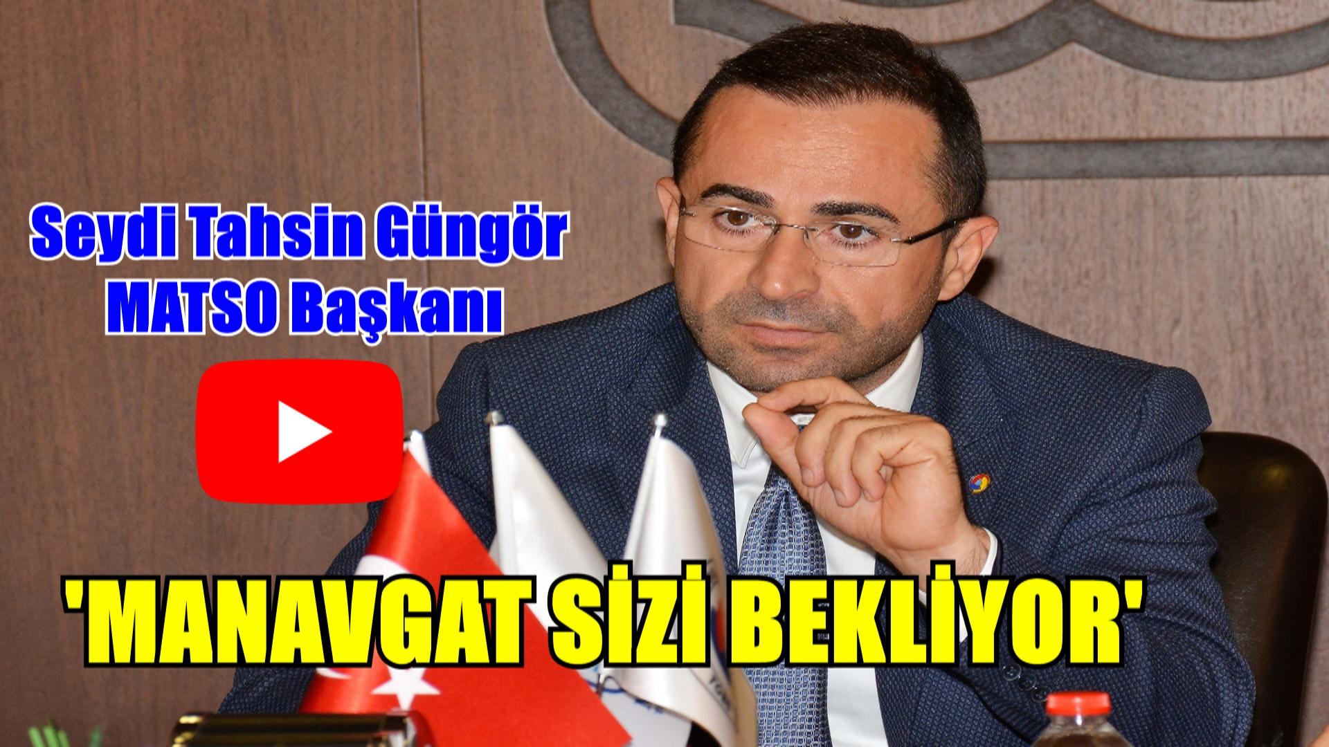 MATSO'DAN TÜRKİYE'YE ÇAĞRI !