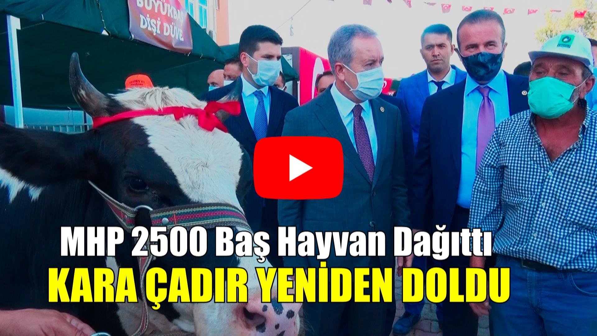 MHP Kara Çadırı Yeniden Doldurdu !