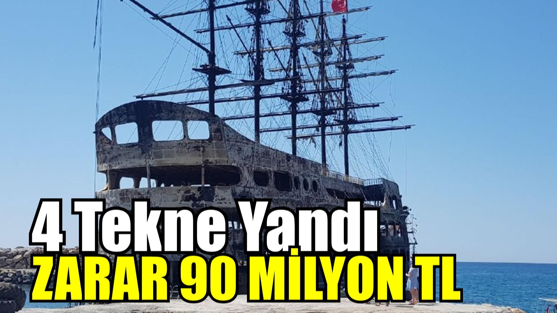 ZARAR 90 MİLYON LİRA