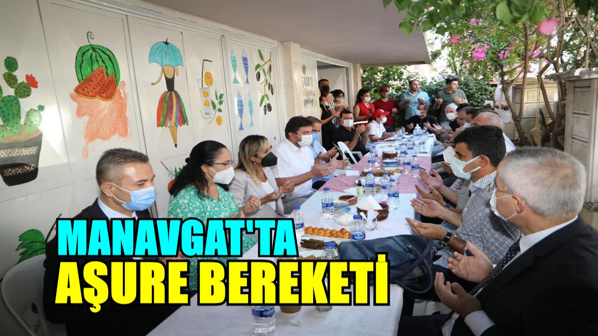 MANAVGAT'TA AŞURE BEREKETİ